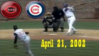 2002 04 21 - Cincinnati Reds v Chicago Cubs (Radio Audio through 6.5)