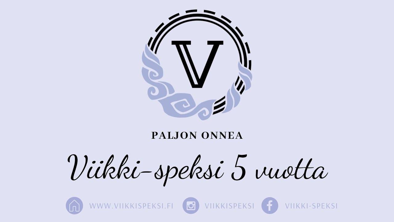 Viikki-speksi 5 vuotta💜✨