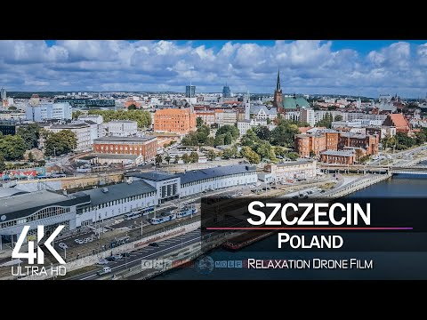 【4K】Szczecin from Above 🔥 POLAND 2021 🔥 Cinematic Wolf Aerial™ Drone Film