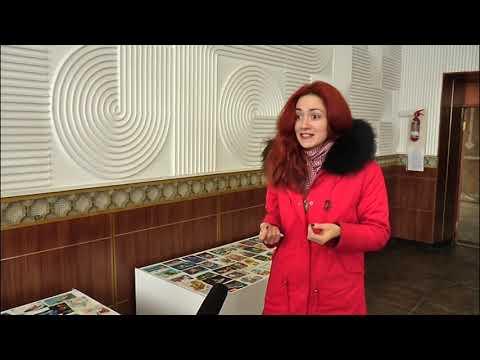 Канал Кіровоград: Сто двадцять новорічних листівок презентував колекціонер
