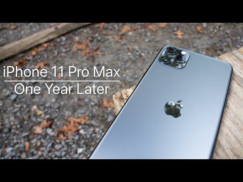 iPhone 11 Pro Max - One Year Later