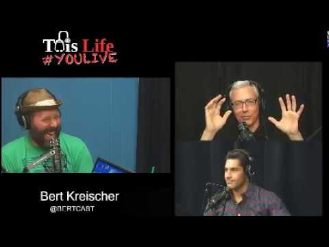 Bert Kreischer  #YOULIVE #SoberOctobert with Dr. Drew and Mike Catherwood
