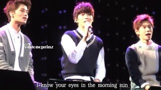 "[bloncprinz] 151219 SMROOKIESSHOW ""How Deep Is Your Love"" JAEHYUN focus (with lyrics)"