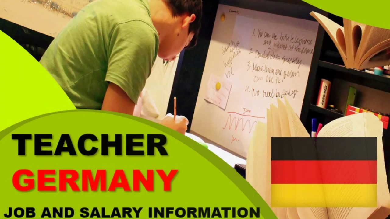 Teacher Salary in Germany - Jobs and Wages in Germany