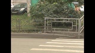 Жители Советского района жалуются на оградки