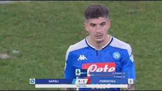 نابولي 0 - 2 فيورنتينا | فيورنتينا يهزم نابولي في عقر داره | الجولة 20