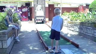 Bunny Hutch Mini Golf 8/9/2011 7