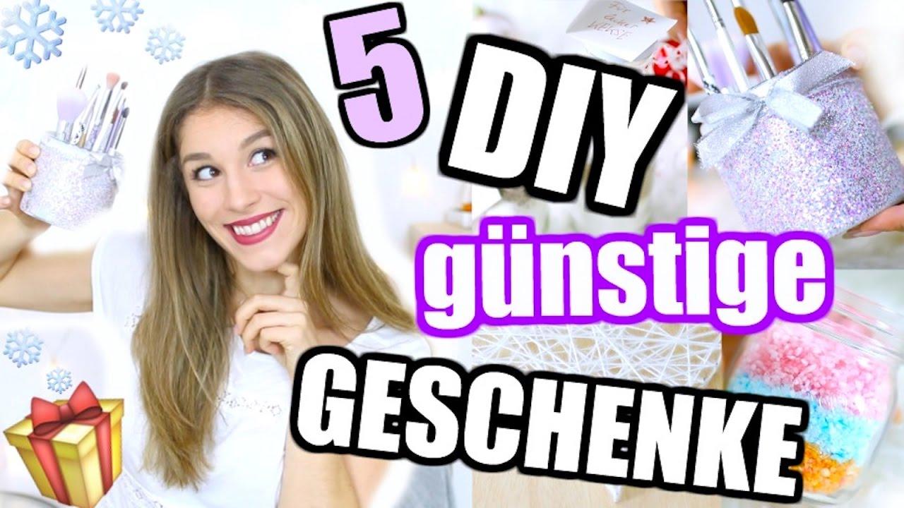 5 easy DIY WEIHNACHTSGESCHENK IDEEN für JEDEN ...