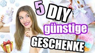 5 easy DIY WEIHNACHTSGESCHENK IDEEN für JEDEN! ♡ BarbieLovesLipsticks
