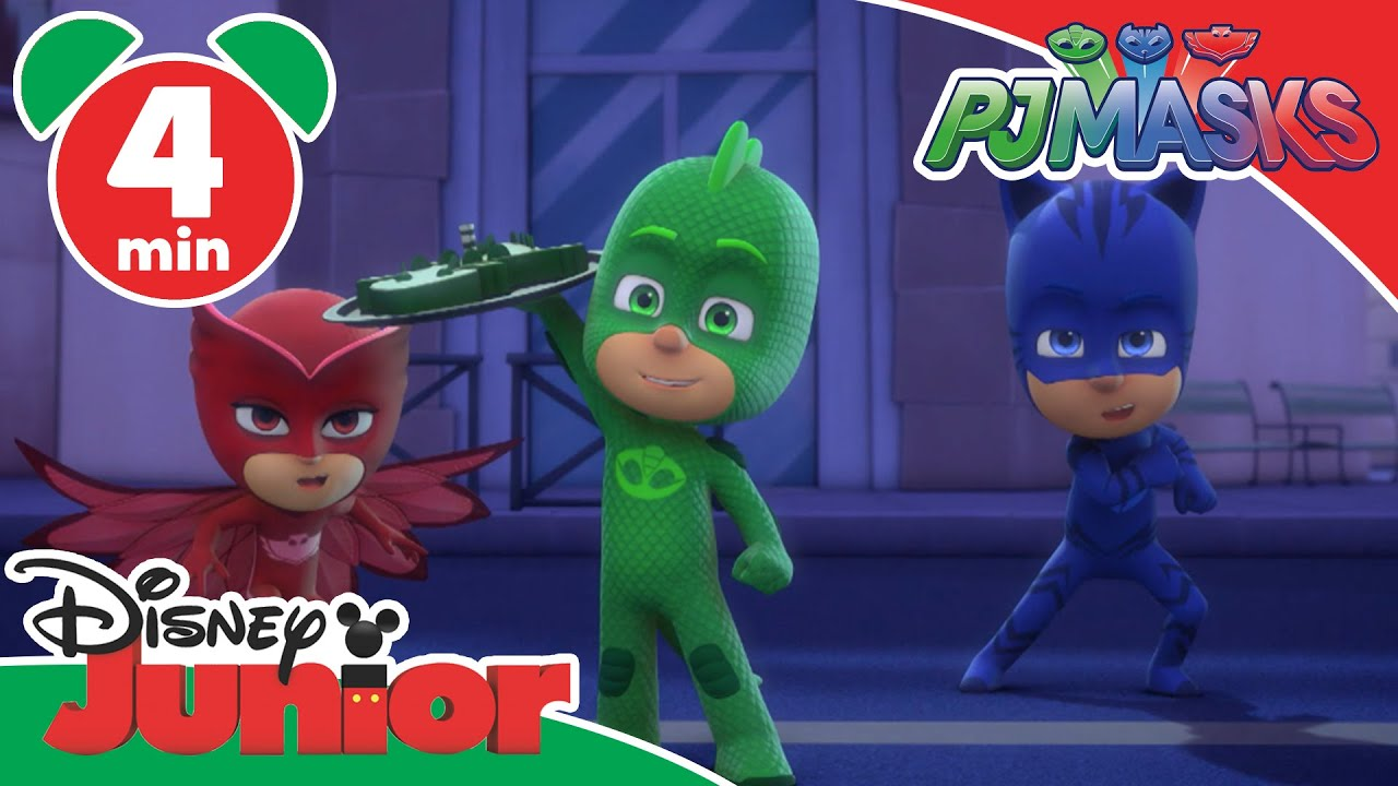 PJ Masks Great Birthday Cake Rescue Disney Junior UK YouTube