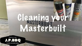 Cleaning your Masterbuilt