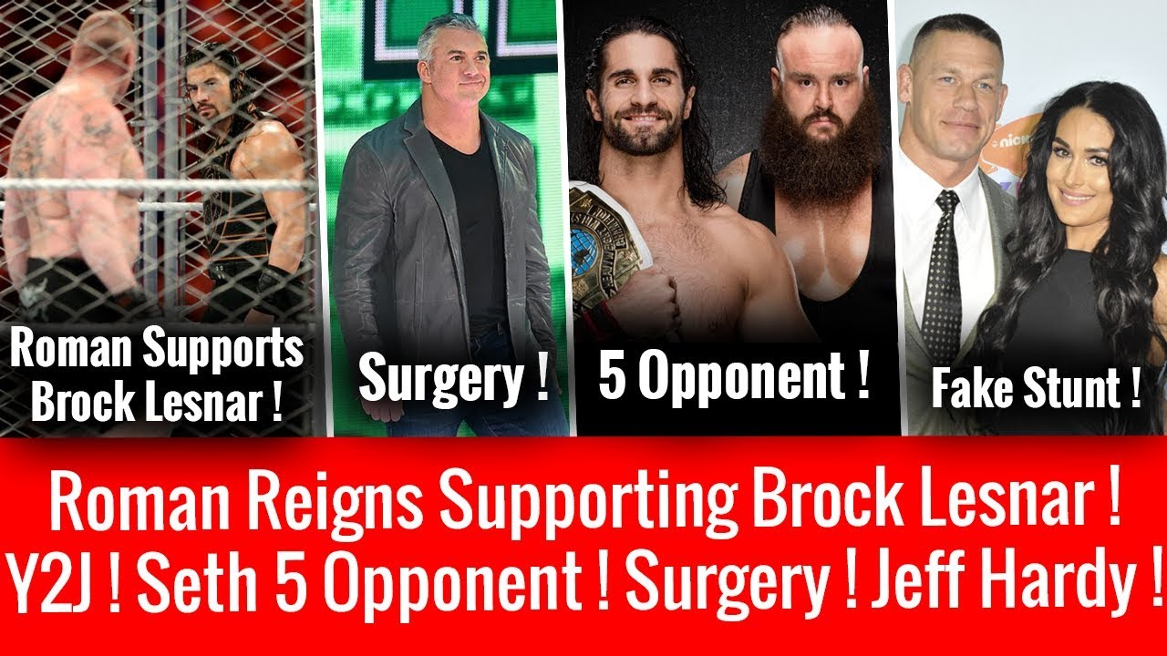 Roman Supporting Lesnar ! Seth 5 Opponent ! Shane Surgery