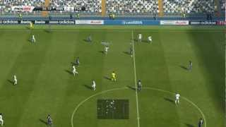 PES 2013 Gameplay (PC) Real Madrid vs Barcelona - Full HD 1080p High Settings GT 650M Asus N76VZ