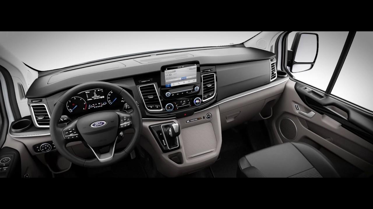 2020 Ford Tourneo Hybrid Interior Youtube