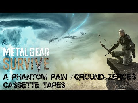 Metal Gear Survive - A Phantom Pain/Ground Zeroes/Nuclear Disarmament Cassette Tapes |