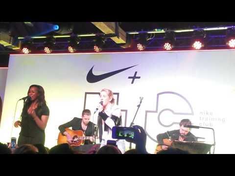 Ellie Goulding Nike + TC workout launch