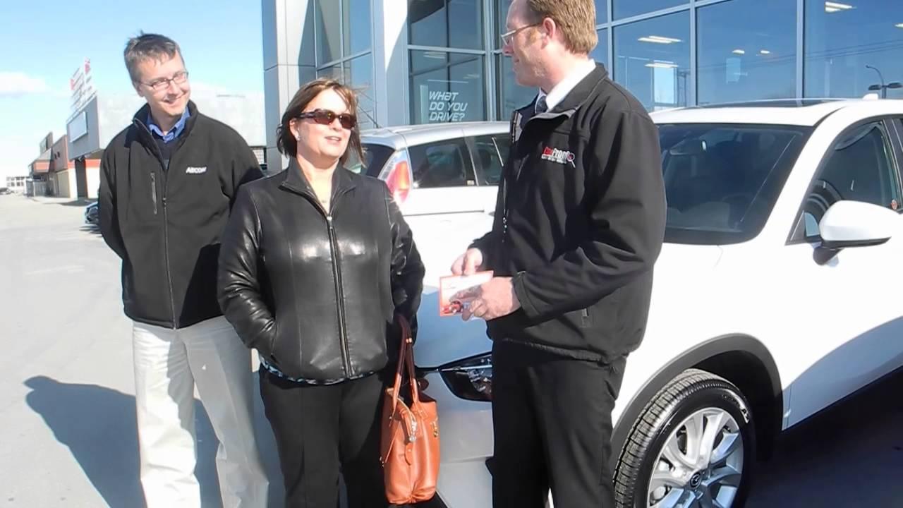 2014 Mazda CX5 GT LAURIE & RAY BILEVICIUS Crown Mazda, Winnipeg ...