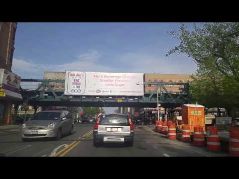 Driving from Foxhurst to Van Nest in The Bronx,New York