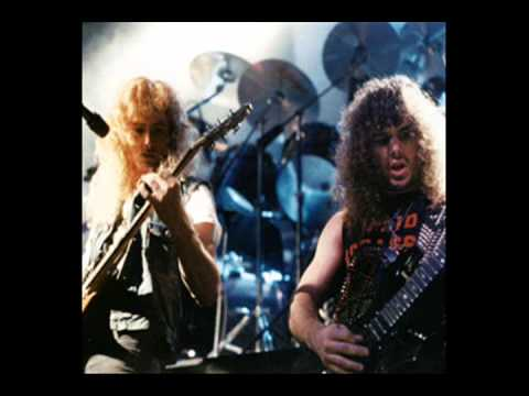 megadeth rattlehead live 1984 with kerry king youtube