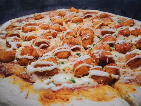 Recipe: How to Make Buffalo Chicken Pizza