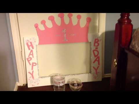 DIY Party Photo Booth Picture Frame