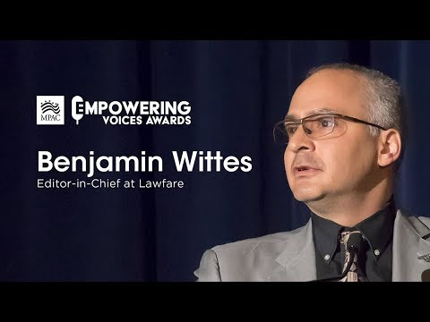 Honoring Benjamin Wittes | MPAC Empowering Voices Awards