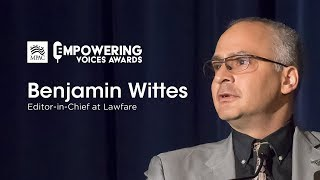 Gambar cover Honoring Benjamin Wittes | MPAC Empowering Voices Awards
