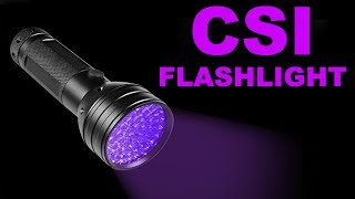 51 LEDs UV Flashlight - Unboxing and Test - By STE