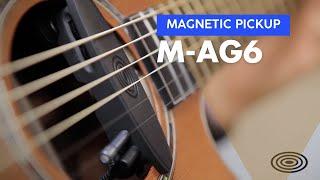 AG6 + S-MIC-M on Auden Colton Guitar