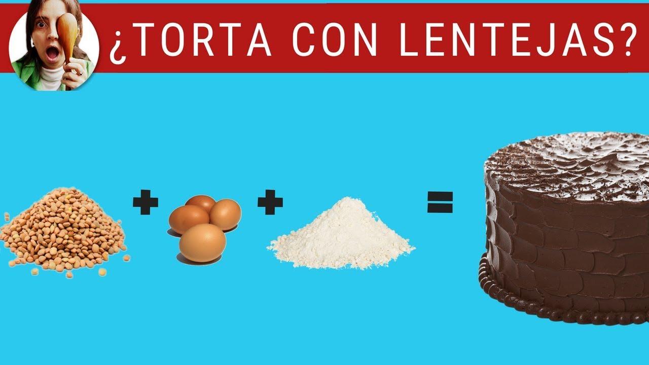 TORTA DE CHOCOLATE... ¡CON LENTEJAS! ¿ES RICA?