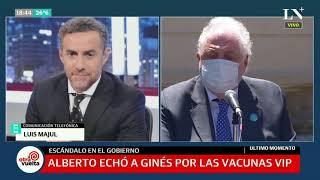 Luis Majul, sobre el escándalo por la vacunación VIP: