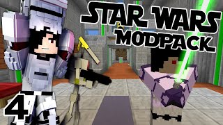 SEARCHED FOR LONG I DID! || The Star Wars Modpack Episode 4 (Minecraft Star Wars Mod)
