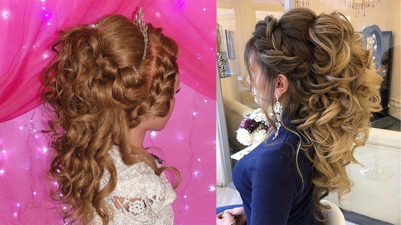 Peinado Semirecogido Para Novia O 15 Anos Elegante Y Moderno