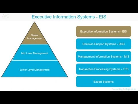 Executive Information Systems - A-Z of business terminology