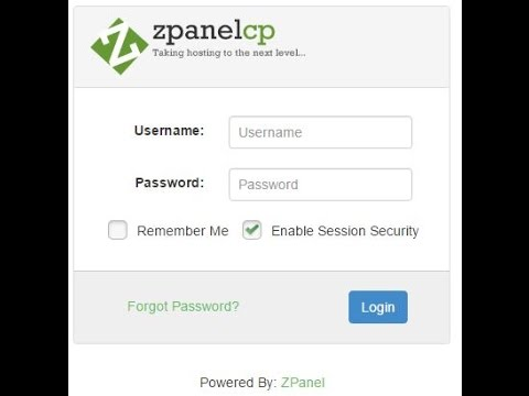 Zpanel install in CentOS 6