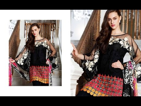 a1e8a2fade Charizma Lawn Eid Dresses Collection 2017 With Price - YouTube