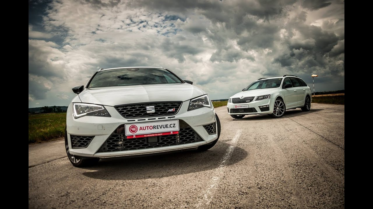 drag race seat leon st cupra 280 vs koda octavia combi rs youtube. Black Bedroom Furniture Sets. Home Design Ideas