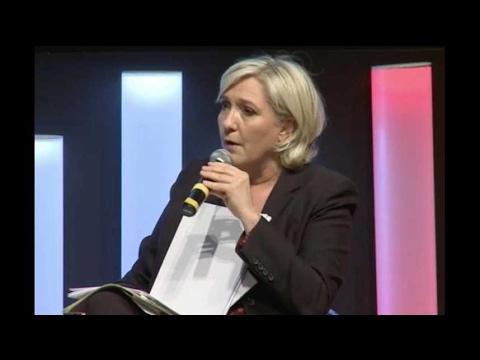 Devant le MEDEF, le tacle de Marine Le Pen à Pierre Gattaz