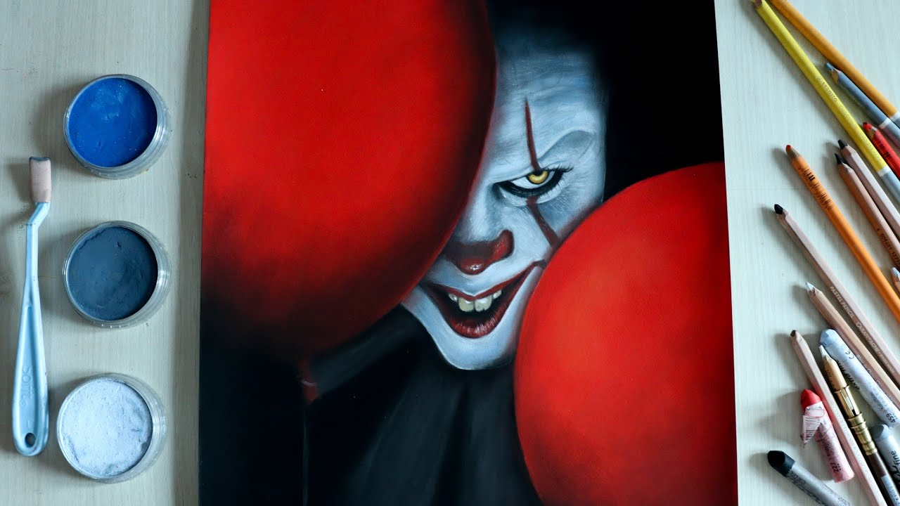 Dessin De Grippe Sou Le Clown Drawing Pennywise The Dancing