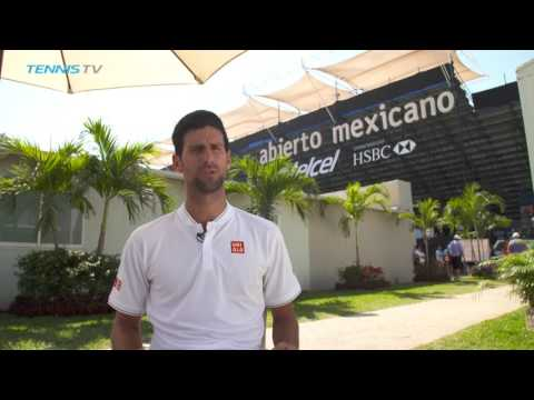 Djokovic Amazed By Welcome At Acapulco 2017
