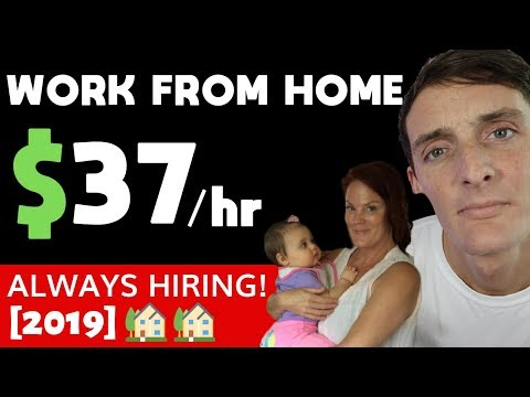 Earn $37 Per Hour From Home (5 Jobs To Start IMMEDIATELY Without Experience)