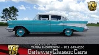 1244-TPA 1957 Chevrolet Bel Air