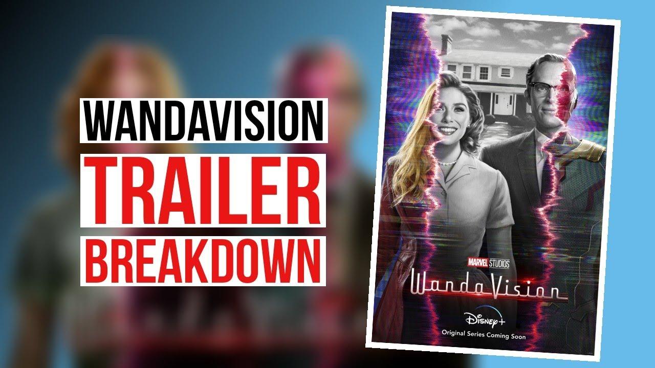 WandaVision Offcial Trailer (2020) Breakdown