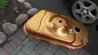 a gas tank made of gold for the worst 3000gt vr4 in the world