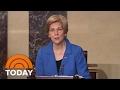 Senator Elizabeth Warren Silenced On Senate Floor By Republicans   TODAY