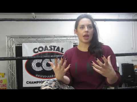 (Part 2) WWE Alum Kaitlyn (Celeste Bonin) Talks Sports, WWE, NXT, Vickie, Jan. 2018