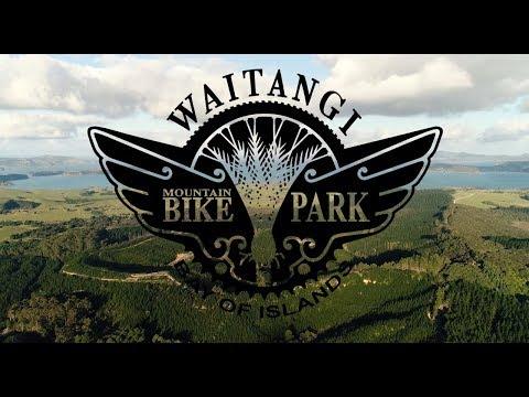 Waitangi Mountain Bike Park - Official Video (skip to 21s)