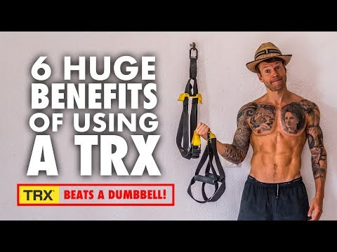 4 Week TRX Suspension Trainer Exercise Routine for Muscle Gains