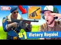 *NEW* DRUM GUN GAMEPLAY in Fortnite: Battle Royale! (GOOD GUN?)