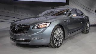 2016 Buick Avenir Concept - 2015 Detroit Auto Show